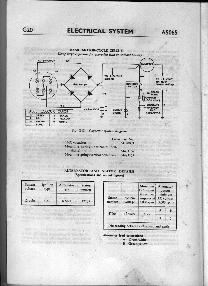 Need Wiring Schematic For  U0026 39 70 Thunderbolt A65